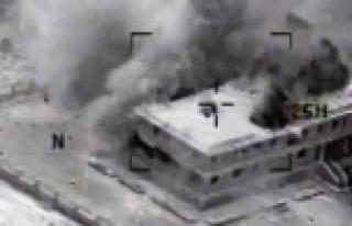 Kobani'ye hava operasyonu