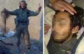 Kürt kızın kafasını kesen terörist öldürüldü