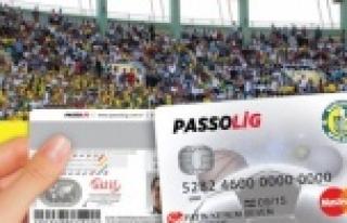 Passolig kartları GAP Arena stadı önünde satılıyor