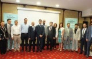 Prof.dr Murat,Urfa'da konuştu.