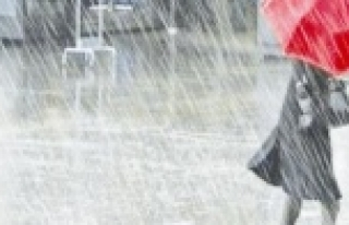 Sağanak yağış geliyor