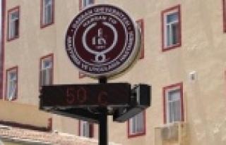 Şaka değil: 50 derece