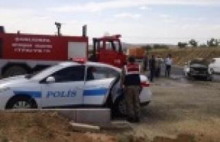 Şanlıurfa-Adıyaman karayolunda kaza
