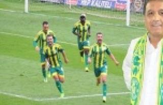 Şanlıurfaspor'da hedef direkt Süper Lig
