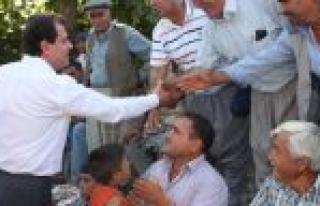 Seçer 'dünya Çiftçiler Günü'nü Kutladı...