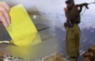 Seçmene PKK baskısı: BDP'ye oy vereceksiniz