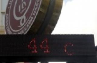 Sıcaklık 40 derecenin altına inmiyor