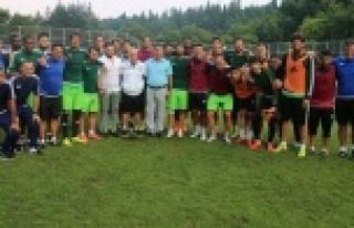 Şimşek'ten Urfaspor'a moral ziyareti