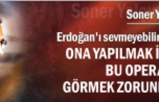 Soner Yalçın, Erdoğan'ı savundu...