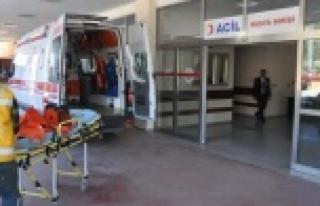 Suriyeli İşçi Akıma Kapılarak Yaralandı