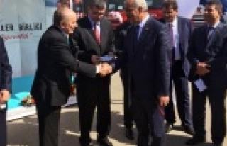 Türkiye Belediyeler Birliği'nden Hilvan'a Araç...