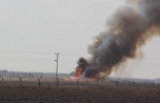 Türkiye tarafına havan mermileri düştü