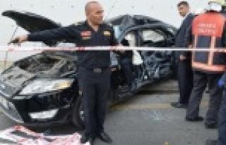 Urfa Millevekili trafik kazası geçirdi