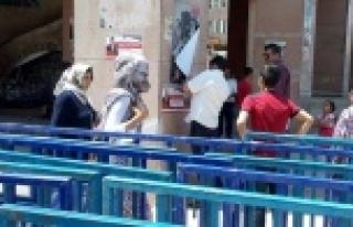 Urfa'da Erdoğan alarmı