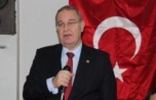 Urfa'da Erdoğan'a tepki gösterdi