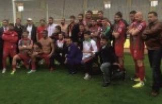 Urfa'da şampiyon oldular!