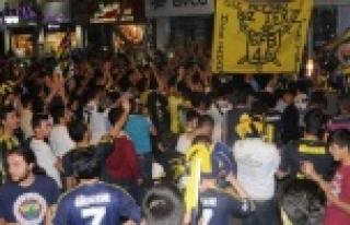 Urfa'da şampiyonluk sevinci