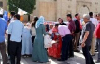 Urfa'da şaşırtan manzara