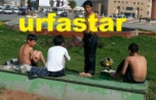 Urfa'da sıcaklar, çocuklarda tehlike saçmaya başladı!