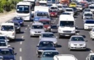 Urfa'daki araç sayısı belli oldu