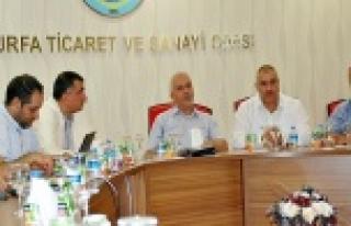 Urfa'nın ekonomisi masaya yatırıldı