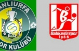Urfaspor-Balıkesir maçı hangi gün?