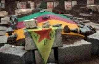 YPG mezarları kazılmaya devam ediyor