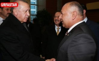 Erdoğan ile görüştü