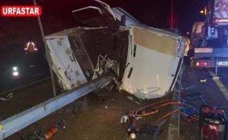 Urfa'da yılın ilk kazası...