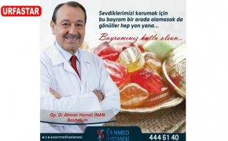 Doktor İnan'dan kutlama