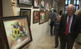 Mezitli Sanat Evi Kursiyerlerinden Yıl Sonu Sergisi
