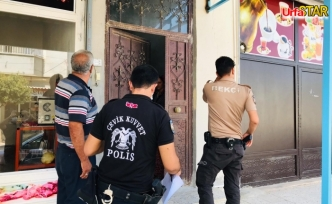 Urfa'daki karantina evleri tek tek kontrol edildi