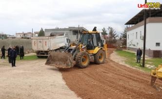 Bozova Belediyesi çalışmalarını sürdürüyor