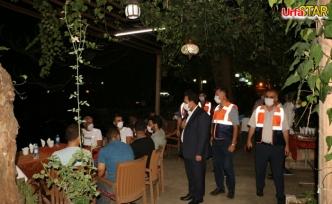 Urfa'da hafta sonu denetim yapıldı