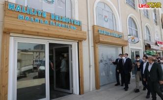 Haliliye Belediyesi'nin yeni hizmet noktası