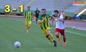 Karaköprü ekibi şampiyonu yendi