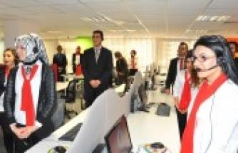 Vodafone çağrı merkezi açılışı