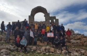 Dağcılar Urfayı keşfetti