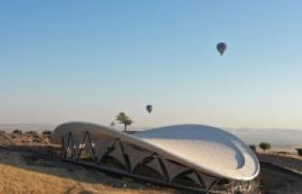 Göbeklitepe'de balon uçuşları başladı...
