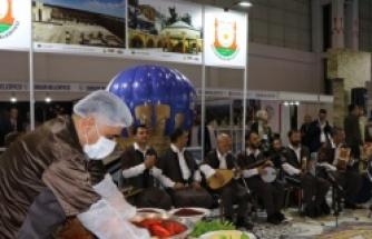 EXPOBEL fuarında Urfa standına yoğun ilgi...