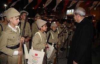 Başkan Demirkol, Çanakkale'ye Uğurladı