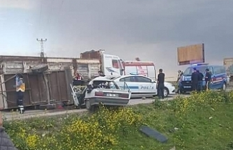 Suruç'ta kaza iki ölü