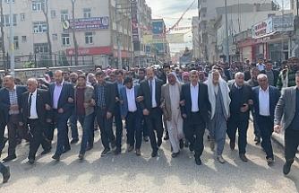 Viranşehir'deBeggara Aşiretinden AK Partiye destek