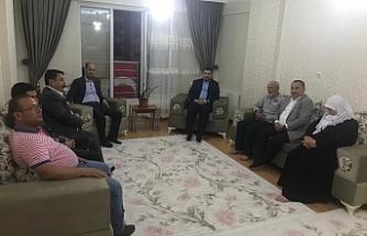 Başkan Yıldız Şehit ailelerini ziyaret etti