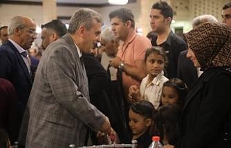 Şehit ve Gazi aileleriyle buluştu