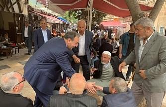 Urfa'da halkı dinleyen Vekil var...
