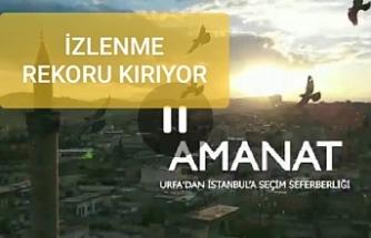 AK Parti'den duygulandıran Urfa İstanbul klibi...
