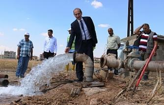 Akçakale'ye 3 kuyu suyu kazandırıldı