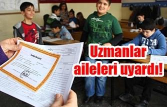 Urfa'da kaç öğrenci karne aldı?