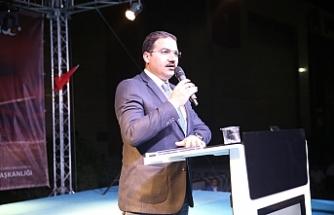 Canpolat 15 Temmuz etkinliğinde konuştu